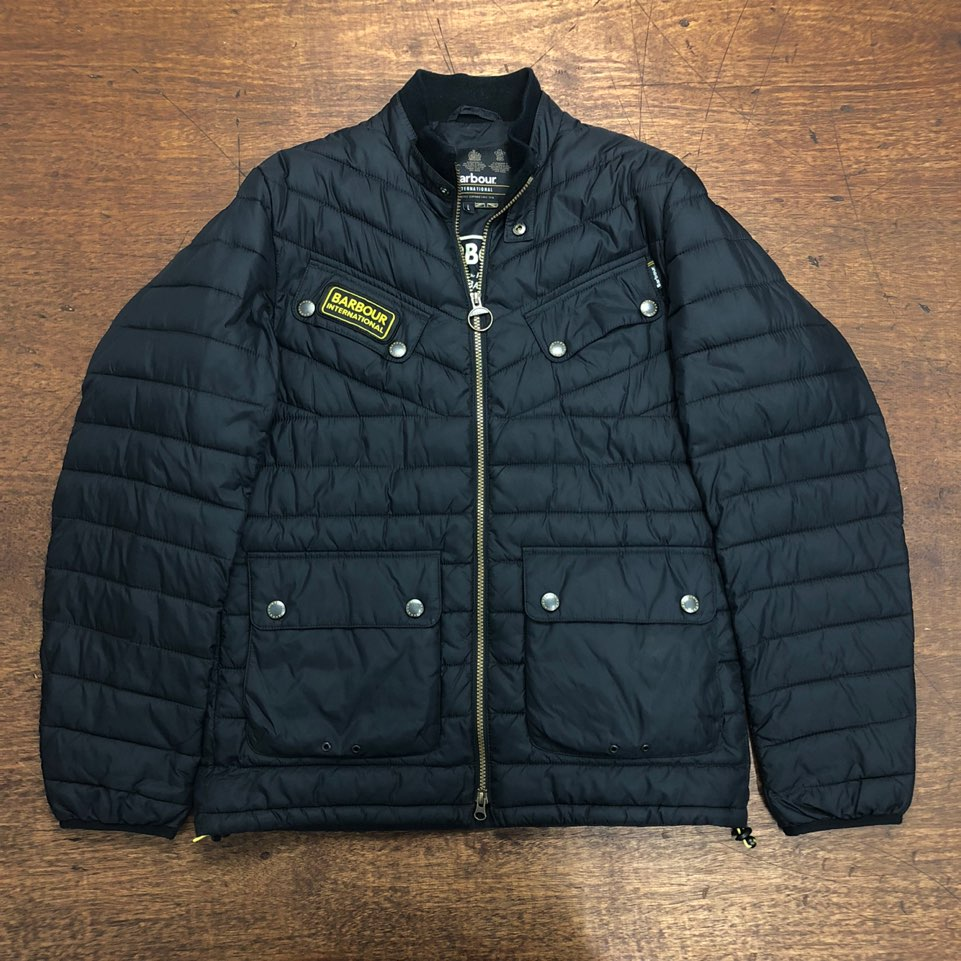 Barbour international aviemore quilted jacket S