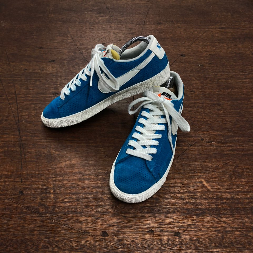 Nike vintage blue blazer low US 9(260)