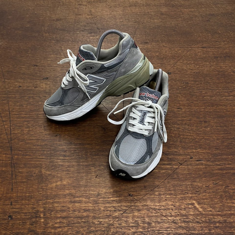 (여성용)New balance gray 990 US 6(230)