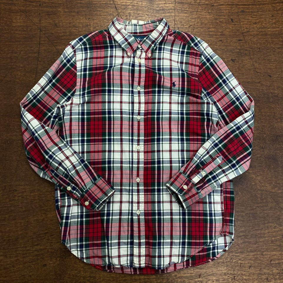 Polo ralph lauren boy's check shirt XL(S)