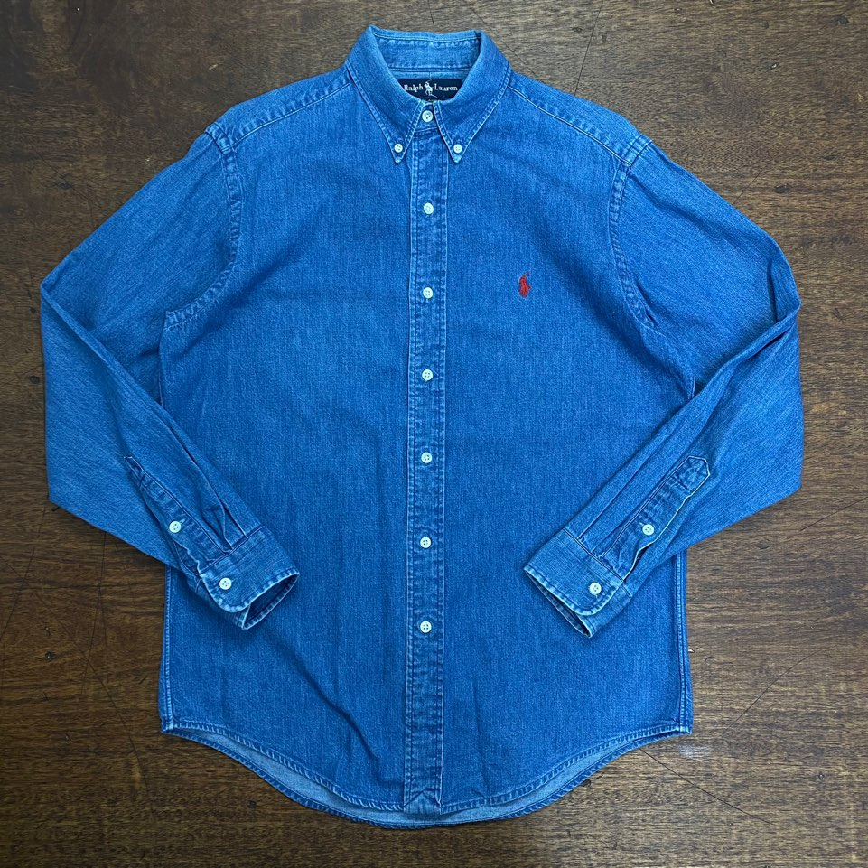 Polo ralph lauren denim shirt 90(S)