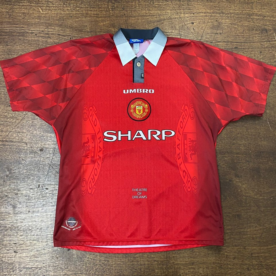 Umbro Manchester united 96 home jersey XL