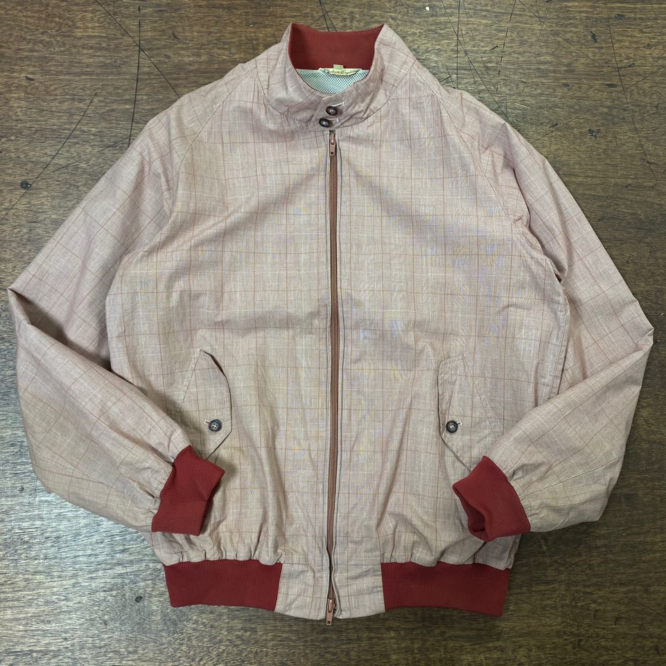 Baracuta peach color G9 harrington jacket L