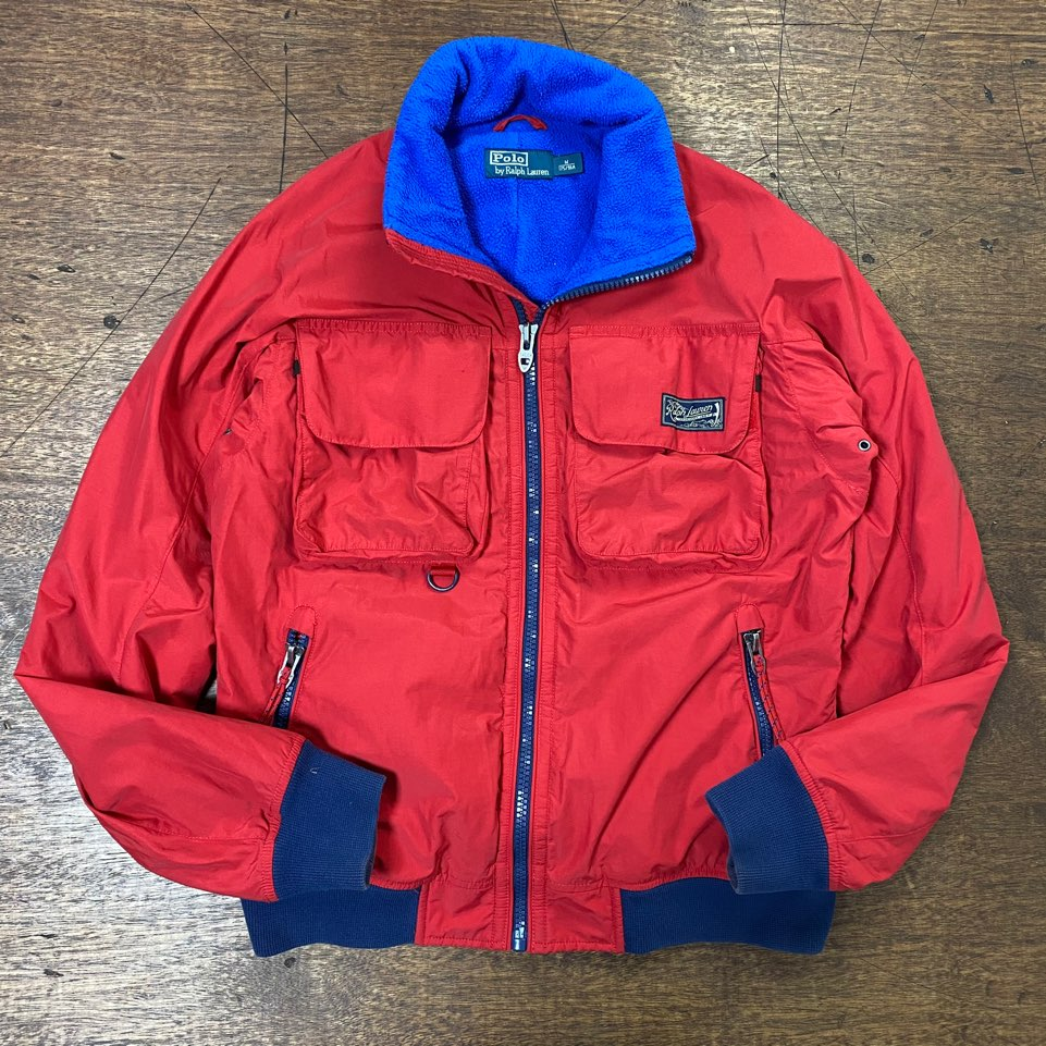 Polo ralph lauren red outdoor jacket M