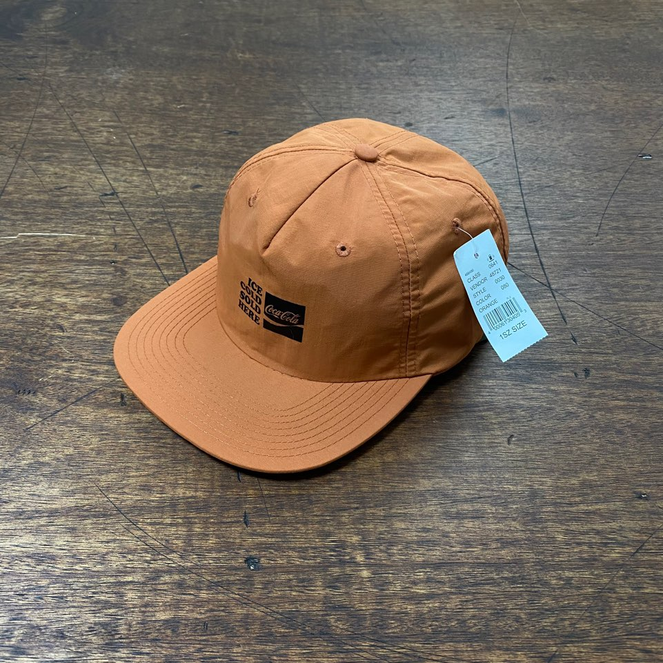 Coca cola dark orange color cap